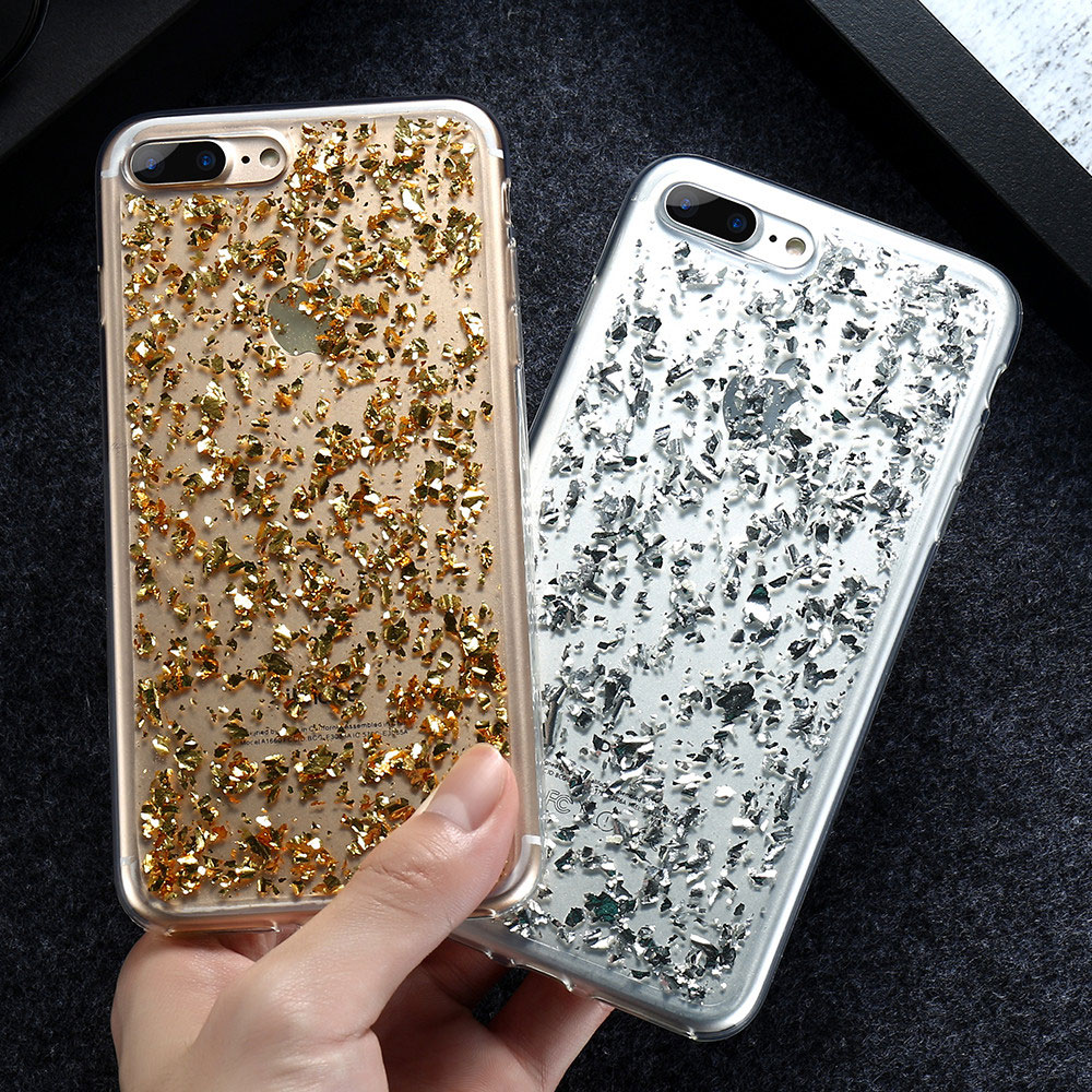 KISSCASE Girly Bling Vaka iphone 6 6 s Artı 7 7 Artı 5 5 s SE Payet Kore Tarzı Coque Ince Kapak iphone 6 S 7 Artı Fundas